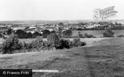 St Clears, General View c.1955