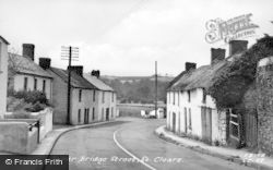 St Clears, Lower Bridge Street c.1955