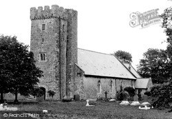 St Clears, St Mary's Church c.1955