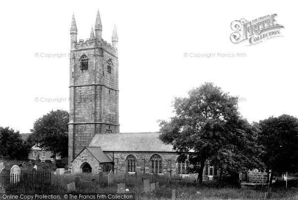 St Cleer, Church 1906