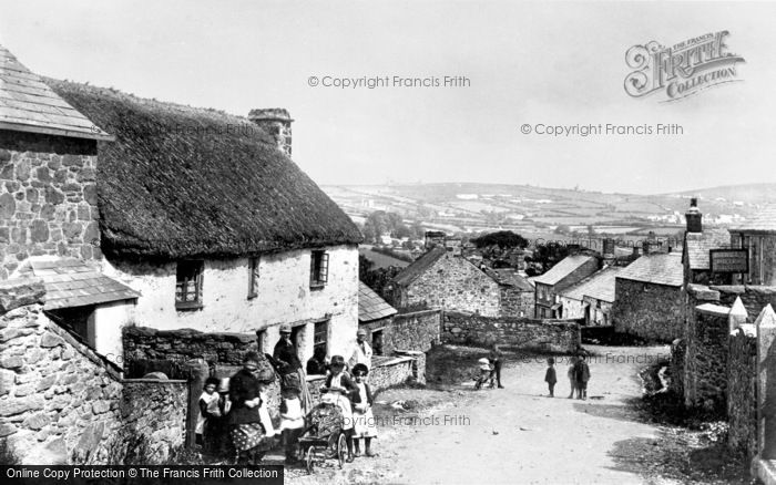 St Cleer, the Village 1890
