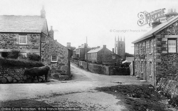 St Cleer, the Village 1906
