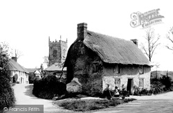 Church And Cottages 1890, St Clement