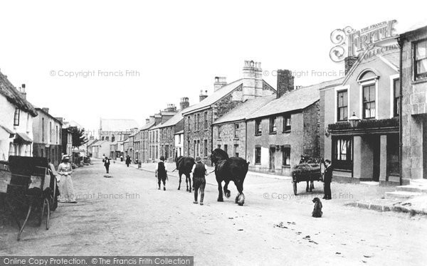 St Columb, Fair Street 1906