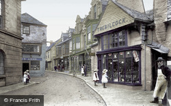 Fore Street 1906, St Columb Major