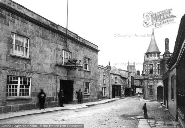 Photo of St Columb Major, Red Lion Hotel 1888