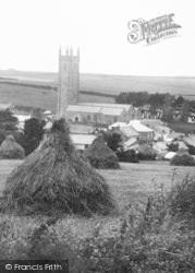 St Columba's Church 1904, St Columb Minor