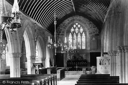 The Church, Interior 1894, St Columb Minor