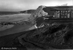The Cliffs c.1955, St Columb Minor