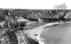 Caerfai Bay c.1955, St Davids