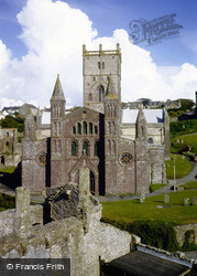 St Davids, Cathedral 1981
