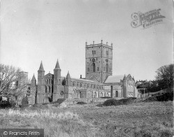 Cathedral c.1960, St Davids