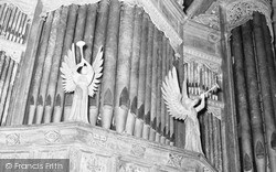 Cathedral, Trumpeting Angels c.1960, St Davids