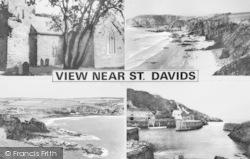 Composite View c.1955, St Davids