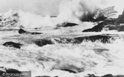 Rough Sea c.1960, St Davids
