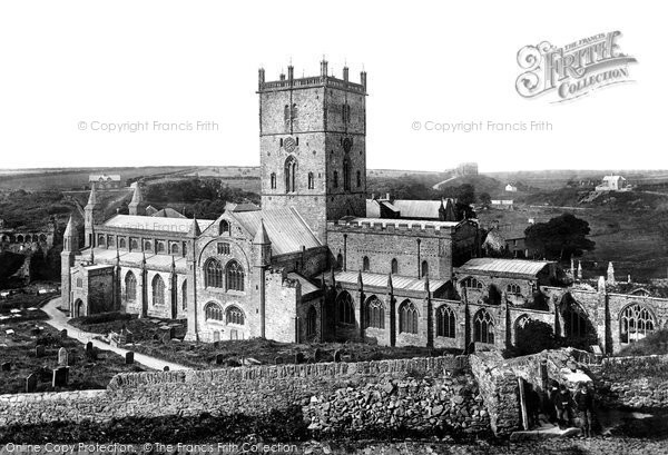 St Davids, The Cathedral 1890