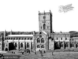 The Cathedral c.1960, St Davids