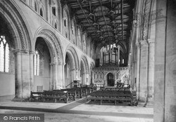 The Cathedral Interior c.1955, St Davids