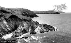 Whitesand Bay c.1960, St Davids
