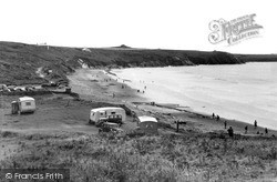 Whitesands Bay c.1955, St Davids