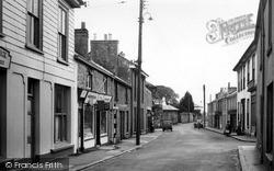 St Day, Church Street c.1955