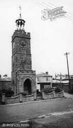 St Day, Clock Tower c.1955