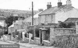 St Day, Walking The Dog Up Vogue Hill c.1955