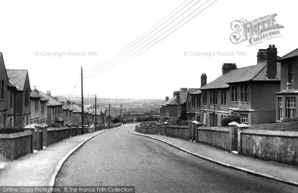 St Dennis, Robartes Road c1960