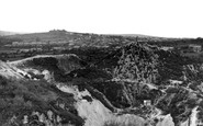 St Dennis, the China Clay Mines c1960