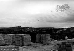 St Dennis, The Cornish Pressed Block Industry c.1960