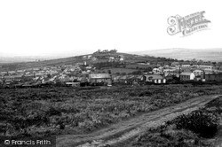 St Dennis, View From Trelavour Downs c.1960