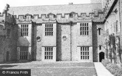 St Donats, Castle, Inner Court c.1960, St Donat's