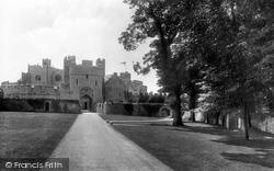 St Donats, Castle, North Entrance 1910, St Donat's