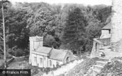 St Donats, Castle, The Chapel c.1960, St Donat's