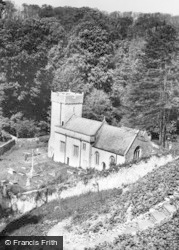 St Donats, Castle, The Church c.1960, St Donat's