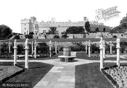 St Donats, Castle, The Tudor Gardens 1910, St Donat's