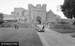 St Donats, Castle1953, St Donat's