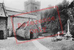 St Donats, Church 1910, St Donat's