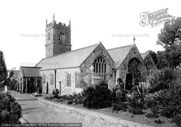 St Erth, Church 1890