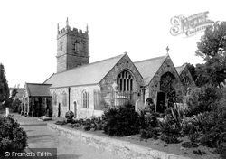 St Erth, The Church 1890