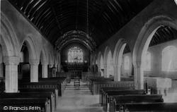 St Erth, The Church, Interior 1890