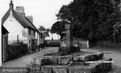 St Ewe, Ancient Cross c.1965