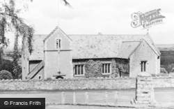 St George, The Parish Church c.1955