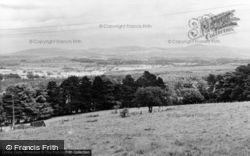 St George, View From The Village c.1955