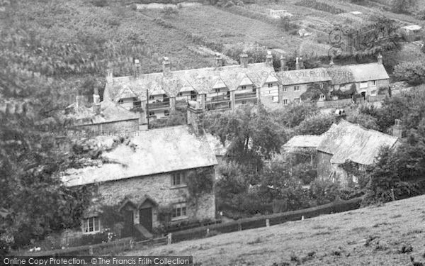 Photo of St Germans, A View Of Sir William Moyle's Almshouses 1920