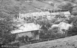 St Germans, A View Of Sir William Moyle's Almshouses 1920