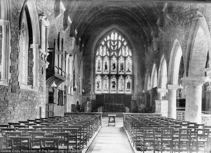 Photo of St Germans, Church Interior 1907