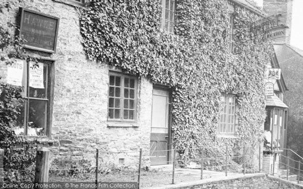 Photo of St Germans, Church Street, Shoe Shop 1920