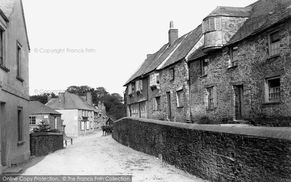 Photo of St Germans, Old Houses 1890