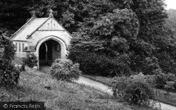 St Germans, Parish Church Lychgate 1920